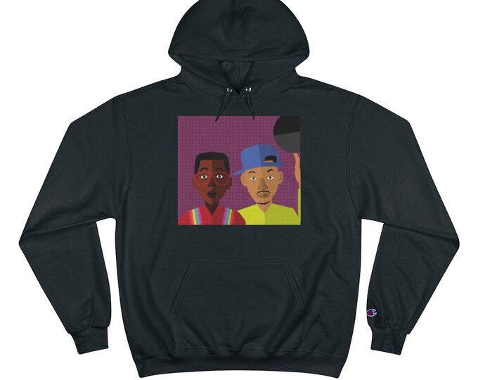 THE FRESH PRINCE of Bel Air | Will Smith | Champion Hoodie