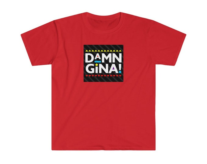 DAMN GINA | Men's Softstyle T-Shirt