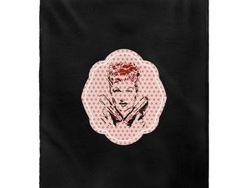 LUCILLE BALL | I Love Lucy Velveteen Plush Blanket