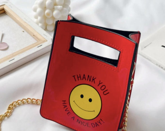 Have a Nice Day Crossbody Bag
