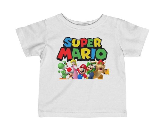 Super Mario | Infant Fine Jersey Tee