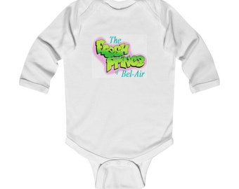 THE FRESH PRINCE Infant Long Sleeve Bodysuit
