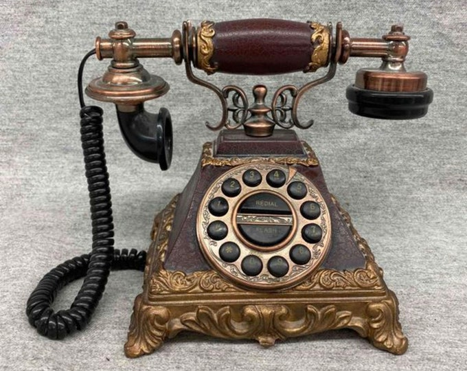 Vintage Royal Style Rotary Phone Collectible