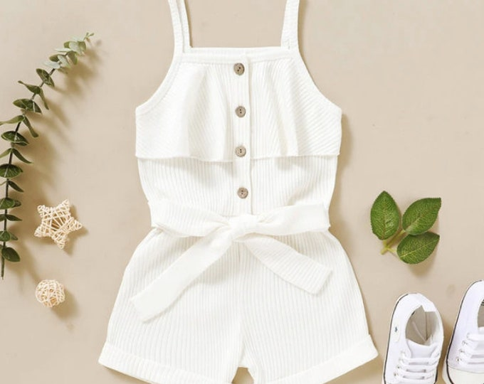 Baby Pink Solid Sling Bodysuit for Baby Girl
