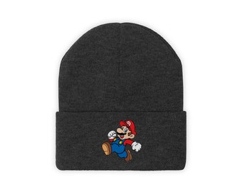 SUPER MARIO CUFFED Knit Beanie