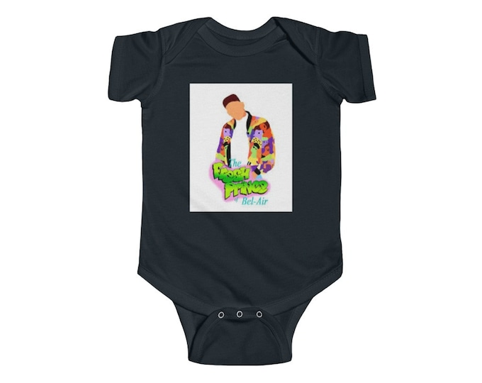 THE FRESH PRINCE Infant Fine Jersey Bodysuit