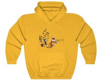 CALVIN AND HOBBES | Adult Unisex Heavy Blend Hooded Sweatshirt