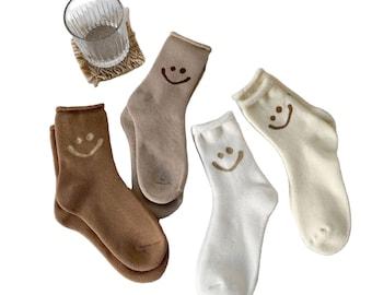 Pack of 4 Smiley Socks | Unisex