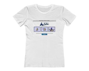 AMERICA ONLINE | AOL Women's The Boyfriend Tee