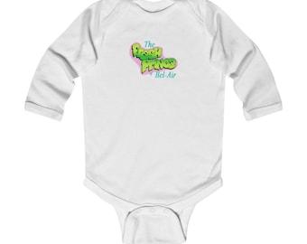 THE FRESH PRINCE Infant Long Sleeve Bodysuit