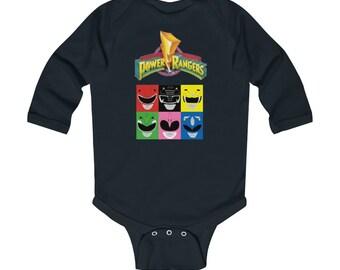 Power Rangers Infant Long Sleeve Bodysuit