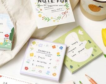 Non-Sticky 100 Sheets Leg the Bird Note Memo Pad
