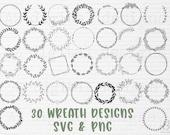 Wreath svg bundle circle svg bundle floral wreath svg heart laurel wreath svg wedding wreath svg wreath monogram svg circle frame