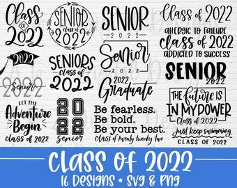Class of 2022 svg bundle hand lettered | senior 2022 svg | senior svg | graduation svg | class of 22 svg | graduation shirt svg | grad svg