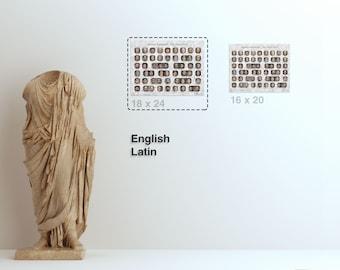 Print (18x24in) Roman Emperors - The Principate - Choose Language