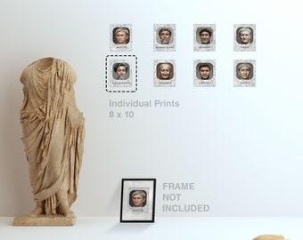 Print (8x10) Individual Emperors