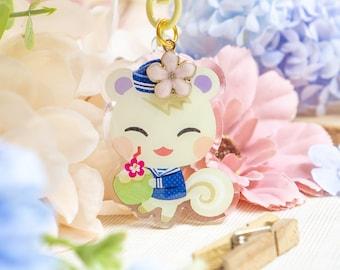 Acrylic Keychain • Sailor Marshal | Acrylic Charm | Cute Keychain | Kawaii Accessories | Sailor Keychain | Epoxy Keychain