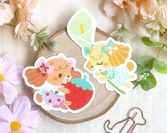Sticker Set • The Poodles | Sticker Flake | Die-cut Sticker | Cute Planner Sticker | Glitter Sticker | Dog Sticker | Kawaii Sticker | Bujo