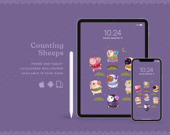 Counting Sheeps • Lock screen wallpaper for multi devices!