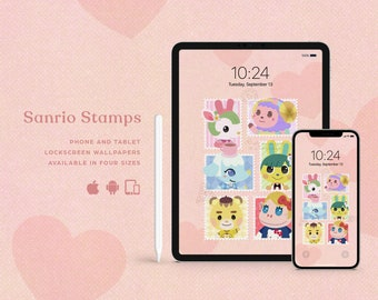 Sweet Stamps • Lock screen wallpaper for multi devices!