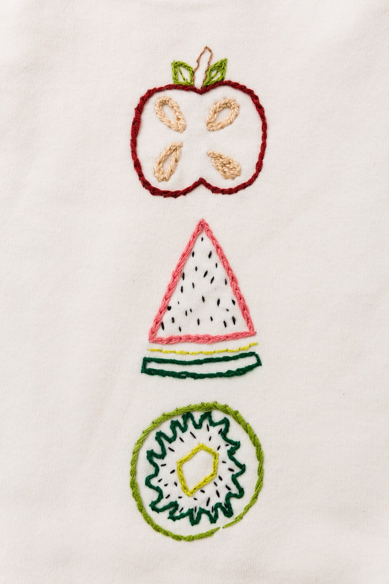 fruity organic cotton onesie