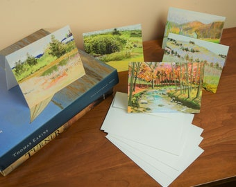 Spring Card Series from Pastels by Don Collins