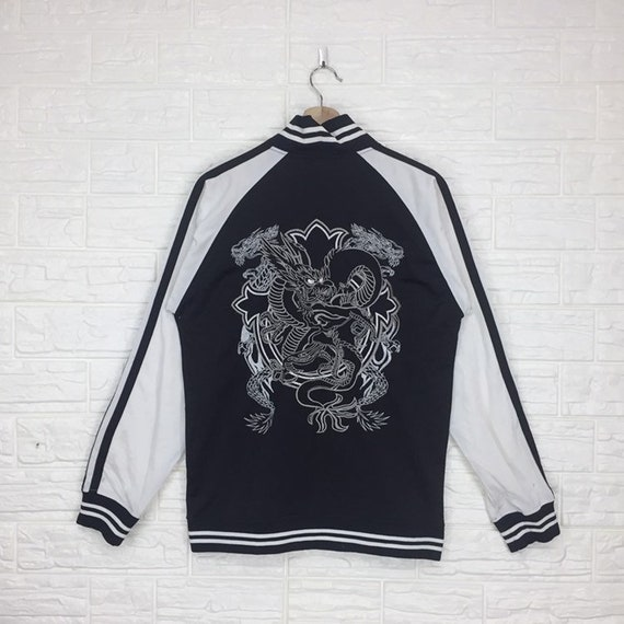 Vintage Sukajan Souvenir Sukajan Dragon Embroidery