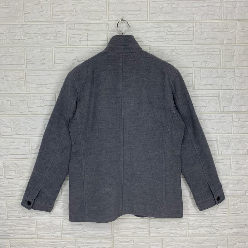 Vintage Japanese Brand Junred Button Down Jacket M Size