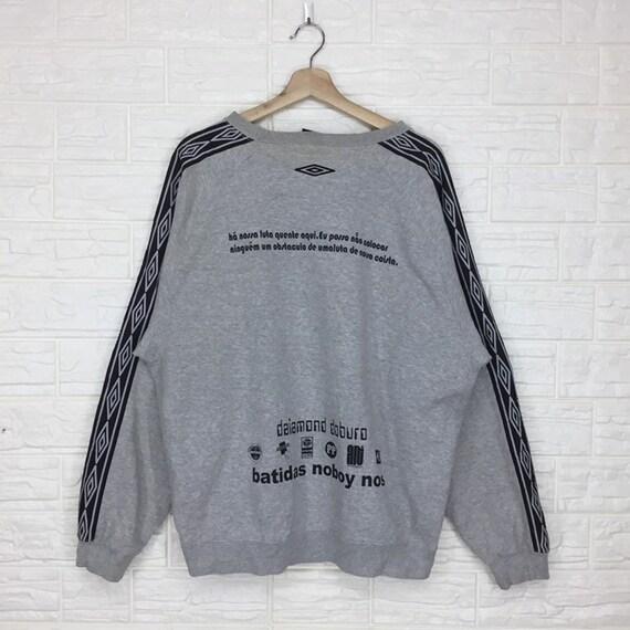 Vintage Umbro Sidetape sweatshirt Crewneck Pullove