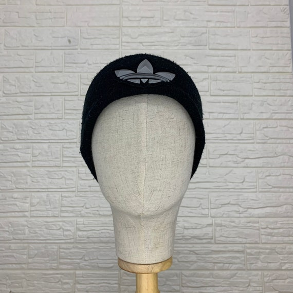 Vintage Adidas Trefoil Beanie Hats Winter Hats Siz