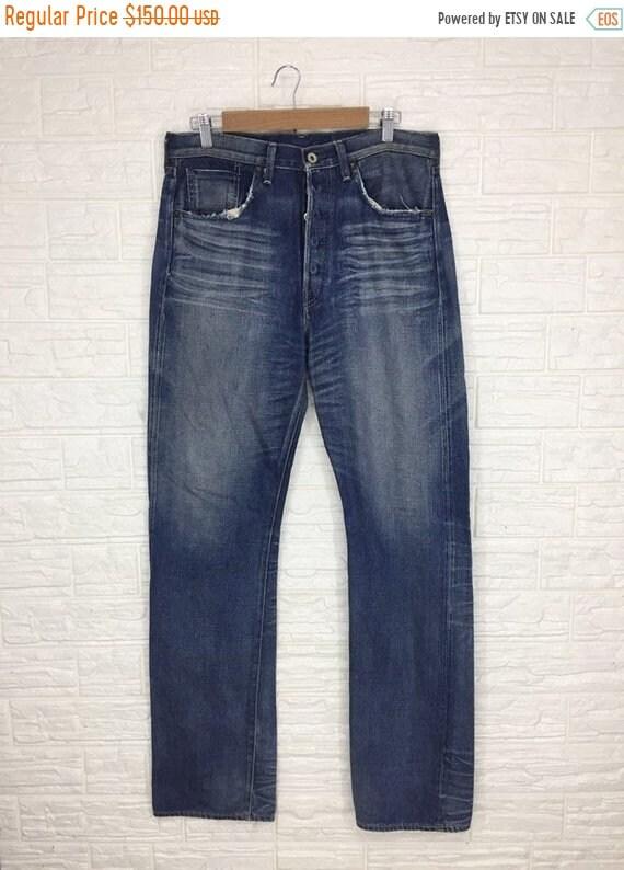 SALE 15% Vintage Levis Big E Selvedge Denim Pant T