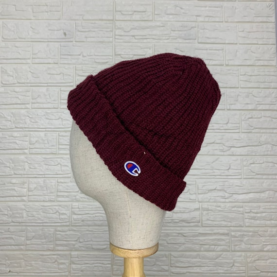 Vintage Champion Beanie Hats Winter Hats Size 25 i