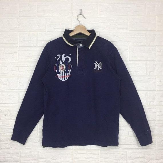 Vintage Tommy Hilfiger Longsleeve Polo T Shirt XL