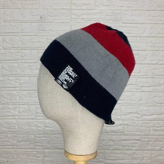 Vintage Umbro Beanief Hats Snow Hats Size 21 inch