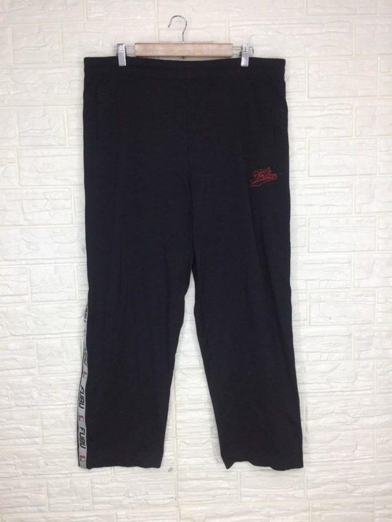 Vintage Fubu Pant Sidetape sweatpant Trousers Size