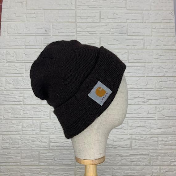 Vintage Carhartt Beanie Hats Winter Hats Size 24.5