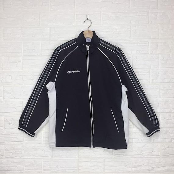 Vintage Champion Zipper Sweater Sweatshirt