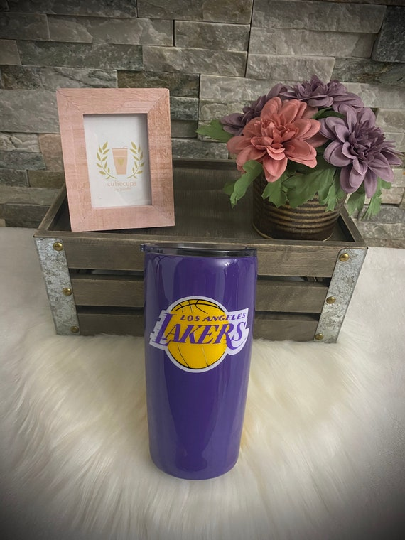 Los Angeles Lakers Lebron James Personalized Tumbler Etsy