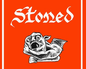 Stoned by Melody Clark - A ZINE About Gargoyles & Grotesques!