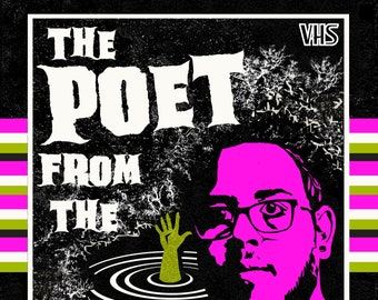 The Poet From The Black Lagoon by Simon Widdop - Paperback Poetry Collection