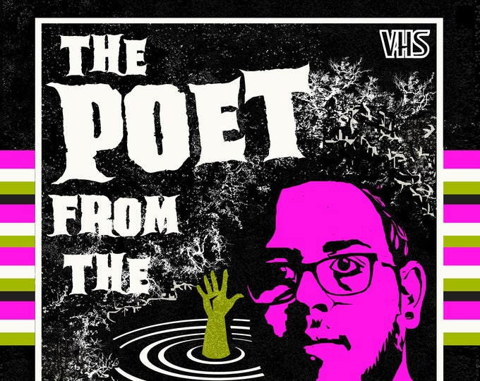 Featured listing image: The Poet From The Black Lagoon by Simon Widdop - Paperback Poetry Collection