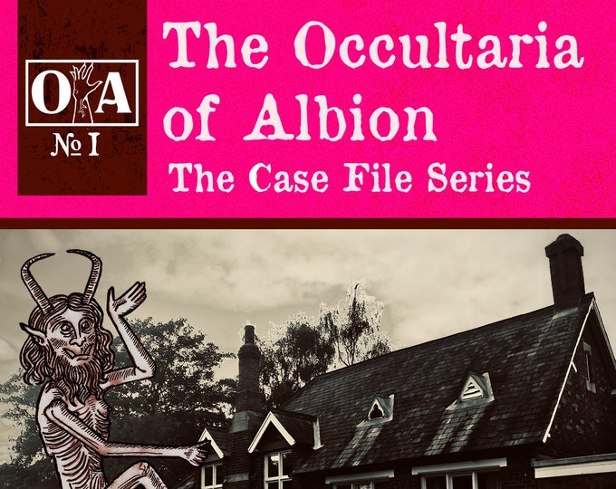 Featured listing image: The Occultaria of Albion Vol 1 - An Investigative ZINE Into Melwerther Hall