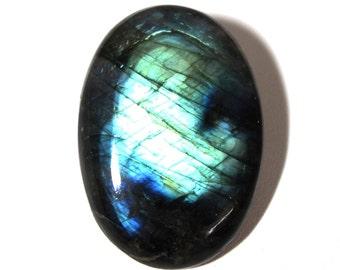 30x16x7 MM Making For Jewelry Rare Purple Labradorite Gemstone Cabochon Pear Shape  28.90 ct
