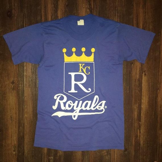 Vintage ***Kansas City Royals***  1980's Tee-Shirt