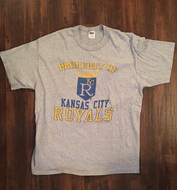 DEADSTOCK Vintage ***Kansas City Royals*** 1987 Te