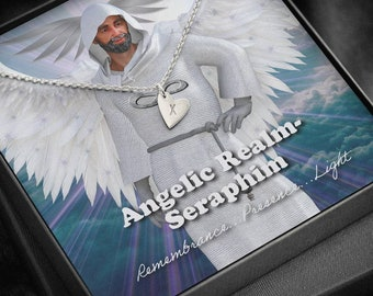Seraphim -Angelic Realms - Sweetest Hearts Necklace