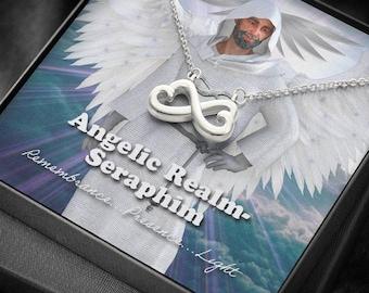 Seraphim -Angelic Realms Infinity Necklace