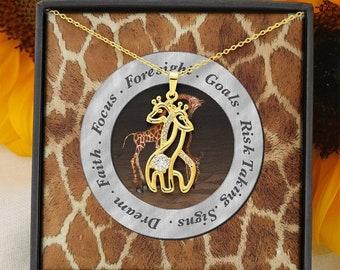 Giraffe Spirit Animal Pendant