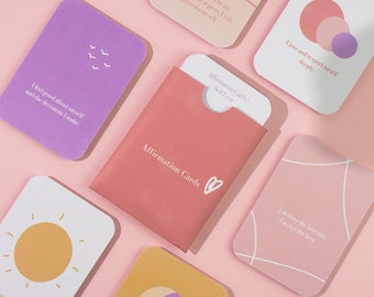 Self Love Affirmation cards - LIMITED EDITION