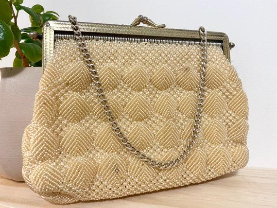 Vintage 1930s clasp evening bag